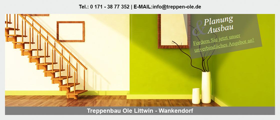 Treppen für Altenholz - Treppenbau Ole Littwin: Tischlerei, Innentreppe, Altbausanierung|TreppenmodernisierungHolztreppe